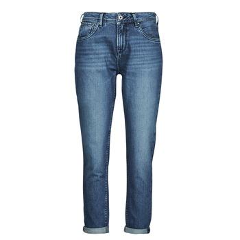Îmbracaminte Femei Jeans drepti Pepe jeans VIOLET Albastru / Medium