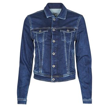 Îmbracaminte Femei Jachete Denim Pepe jeans CORE JACKET Albastru
