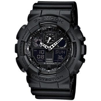 Ceasuri & Bijuterii Bărbați Ceasuri Analogice Casio GA-100-1A1ER, Quartz, 51mm, 20ATM Negru
