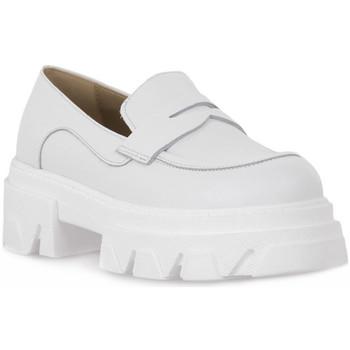 Pantofi Femei Mocasini Priv Lab VITELLO BIANCO Bianco