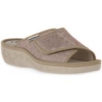 Pantofi Femei Papuci de vară Emanuela 1077 PIPER TIERRA Marrone