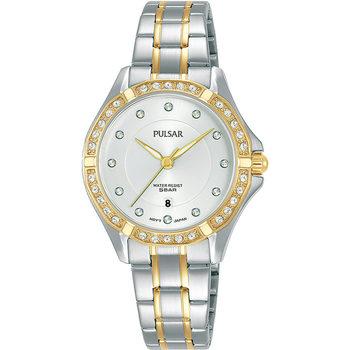 Ceasuri & Bijuterii Femei Ceasuri Analogice Pulsar PH7530X1, Quartz, 30mm, 5ATM Auriu
