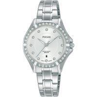 Ceasuri & Bijuterii Femei Ceasuri Analogice Pulsar PH7529X1, Quartz, 30mm, 5ATM Argintiu