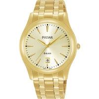 Ceasuri & Bijuterii Bărbați Ceasuri Analogice Pulsar PG8316X1, Quartz, 38mm, 5ATM Auriu