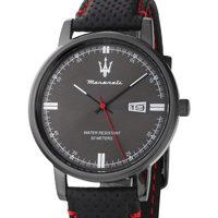 Ceasuri & Bijuterii Bărbați Ceasuri Analogice Maserati R8851130001, Quartz, 42mm, 5ATM Negru