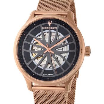 Ceasuri & Bijuterii Bărbați Ceasuri Analogice Maserati R8823136001, Automatic, 43mm, 10ATM Auriu