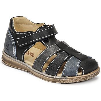 Pantofi Băieți Sandale  Citrouille et Compagnie FRINOUI Albastru / Gri