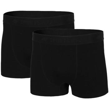 Lenjerie intimă Bărbați Boxeri 4F Men's Briefs Noir