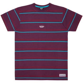 Îmbracaminte Bărbați Tricouri mânecă scurtă Jacker Rtk stripes violet