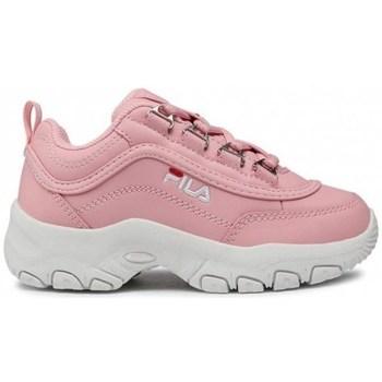 Pantofi Copii Pantofi sport Casual Fila Strada Kids Alb, Roz