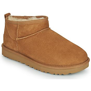 Pantofi Femei Ghete UGG Classic Ultra Mini Camel