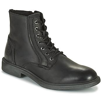 Pantofi Bărbați Ghete Jack & Jones JFW KARL LEATHER BOOT Negru