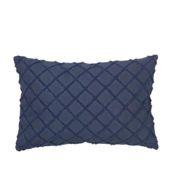 Casa Fețe pentru perne Broste Copenhagen MAGNE Albastru / Night