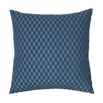 Casa Fețe pentru perne Broste Copenhagen LINO Albastru