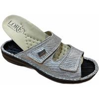 Pantofi Femei Papuci de vară Calzaturificio Loren LOM2829zsabbia blu