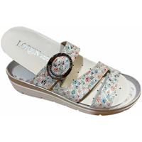 Pantofi Femei Papuci de vară Calzaturificio Loren LOR5536multi grigio