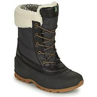 Pantofi Femei Cizme de zapadă KAMIK SNOWPEARL Negru