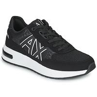 Pantofi Bărbați Pantofi sport Casual Armani Exchange MALIKA Negru / Alb