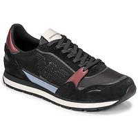 Pantofi Bărbați Pantofi sport Casual Emporio Armani ANIMA Negru / Bordo