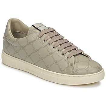 Pantofi Femei Pantofi sport Casual Emporio Armani DANSSE Bej / Alb