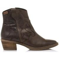 Pantofi Femei Botine MTNG Cleo 58963 Maro