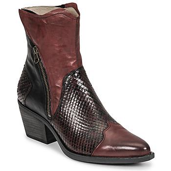Pantofi Femei Botine Casta DOST Bordo