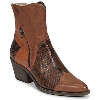 Pantofi Femei Botine Casta DOST Coniac