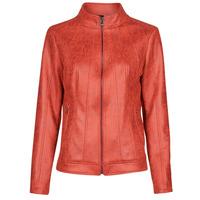Îmbracaminte Femei Jachete din piele și material sintetic Desigual COMARUGA Roșu