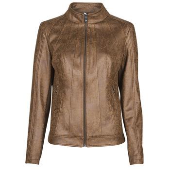 Îmbracaminte Femei Jachete din piele și material sintetic Desigual COMARUGA Maro