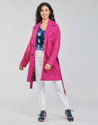 Îmbracaminte Femei Paltoane Desigual RUBI Roz