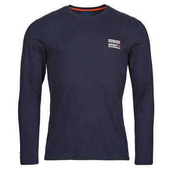 Îmbracaminte Bărbați Tricouri cu mânecă lungă  Oxbow N2TORJOK Albastru
