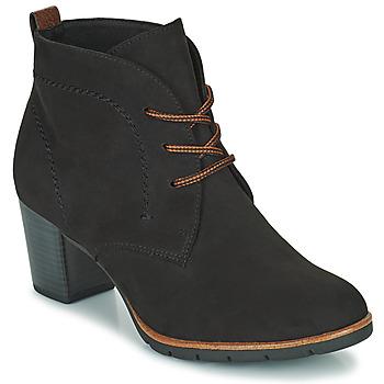 Pantofi Femei Botine Marco Tozzi PELINDA Negru