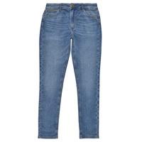 Îmbracaminte Fete Jeans skinny Pepe jeans PIXLETTE HIGH Albastru