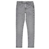 Îmbracaminte Fete Jeans skinny Pepe jeans PIXLETTE HIGH Gri