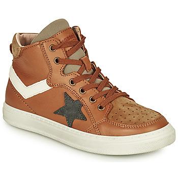Pantofi Băieți Pantofi sport stil gheata Bisgaard ISAK Coniac