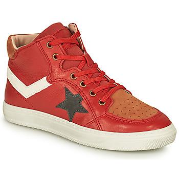 Pantofi Băieți Pantofi sport stil gheata Bisgaard ISAK Roșu