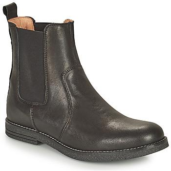 Pantofi Fete Ghete Bisgaard NANNA Negru