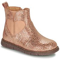 Pantofi Fete Ghete Bisgaard MELODY Roz / Auriu
