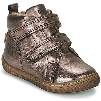 Pantofi Fete Pantofi sport stil gheata Bisgaard DEE Argintiu