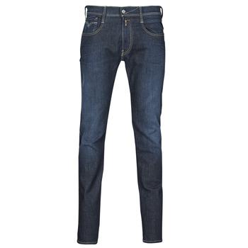 Îmbracaminte Bărbați Jeans slim Replay ANBASS Albastru / Culoare închisă