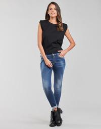 Îmbracaminte Femei Jeans skinny Replay LUZIEN Albastru / Culoare închisă