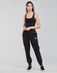 Îmbracaminte Femei Pantaloni de trening Puma ESS SWEAT PANT FL CL Negru