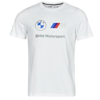 Îmbracaminte Bărbați Tricouri mânecă scurtă Puma BMW MMS ESS LOGO TEE Alb