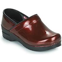 Pantofi Femei Saboti Sanita PROF Bordo