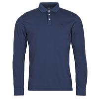 Îmbracaminte Bărbați Tricou Polo manecă lungă Hackett HM550879 Albastru