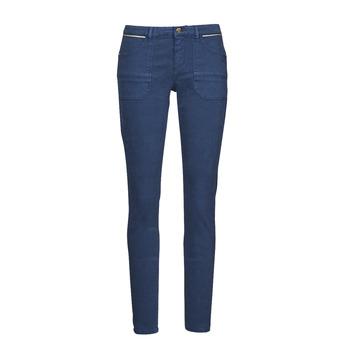 Îmbracaminte Femei Pantalon 5 buzunare One Step FT22021 Albastru