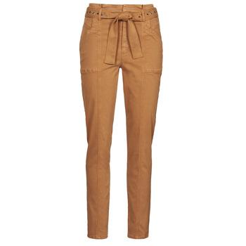 Îmbracaminte Femei Pantalon 5 buzunare One Step FT22111 Bej