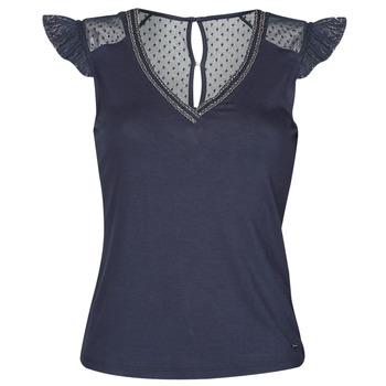 Îmbracaminte Femei Tricouri mânecă scurtă Morgan DUCHES Albastru