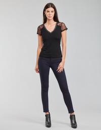 Îmbracaminte Femei Pantalon 5 buzunare Morgan PETRA Albastru