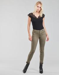 Îmbracaminte Femei Pantalon 5 buzunare Morgan PETRA Tymianek
